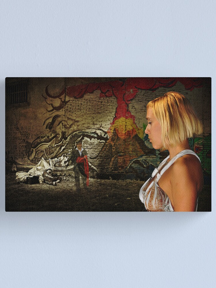 Alternate view of Tango Dreaming Canvas Print
