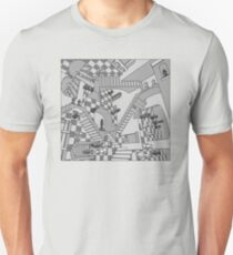 Check Dimension Unisex T-Shirt