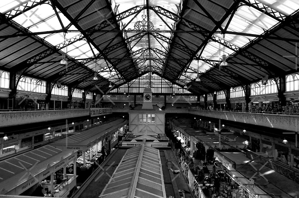 Cardiff Market by Dave Ward