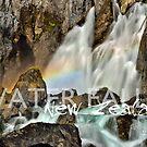 Waterfalls NZ1 by Ken Wright