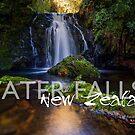 Waterfalls NZ2 by Ken Wright