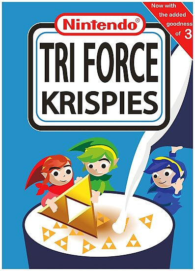 Tri Force Krispies by bandicootscoot