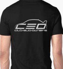 Club Evo Owners - Regular Logo (White) Unisex T-Shirt