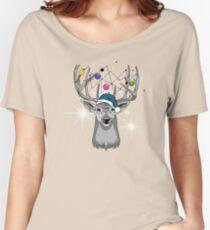 Christmas deer Women's Relaxed Fit T-Shirt