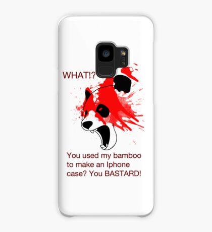 Panda and his Bamboo Case/Skin for Samsung Galaxy