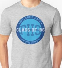 Welcome Back Pointers: Class of '86 - Grosse Pointe Blank T-Shirt