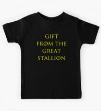 Gift from the Great Stallion Kids Clothes