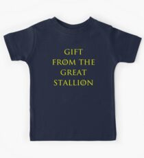 Gift from the Great Stallion Kids Tee