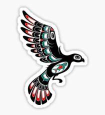 Haida Tattoo Stickers Redbubble