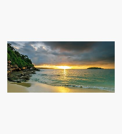 Rays of Congwong Bay Photographic Print