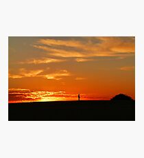 Sunrise at Lake Mungo, Australia Photographic Print