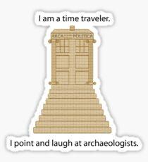 Time Travel Sticker