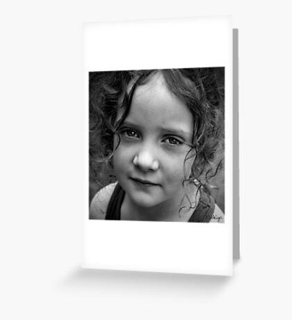Curls Greeting Card