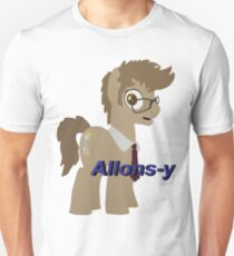 10th Doctor Whooves Unisex T-Shirt