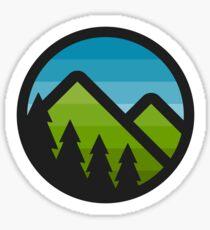 Mountain Badge Sticker