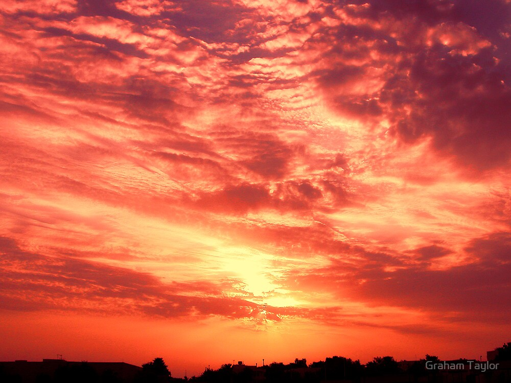 Fiery Sunrise by Graham Taylor