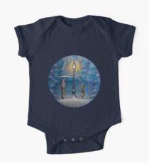 Narnia Magic Lantern Short Sleeve Baby One-Piece