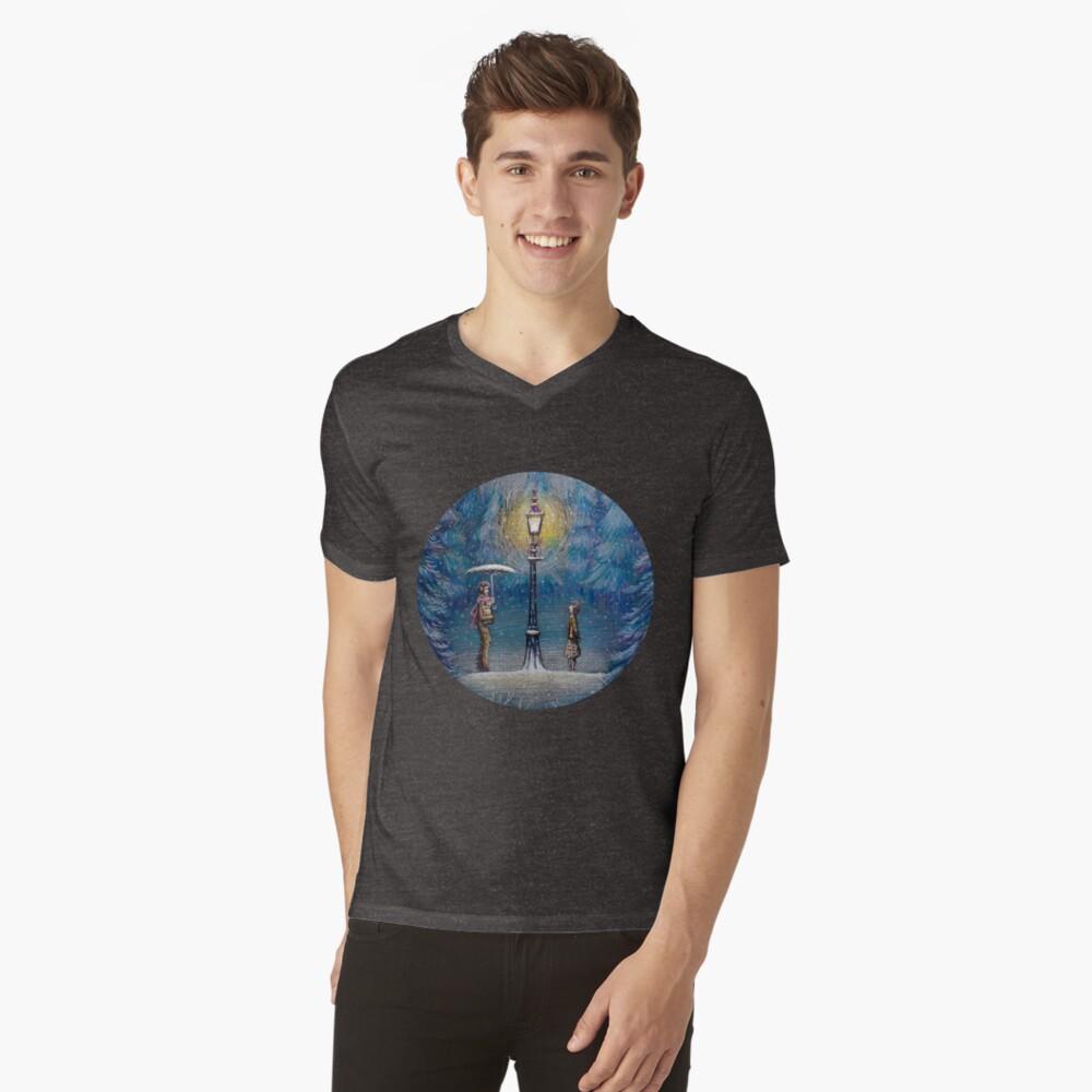 Narnia Magic Lantern V-Neck T-Shirt