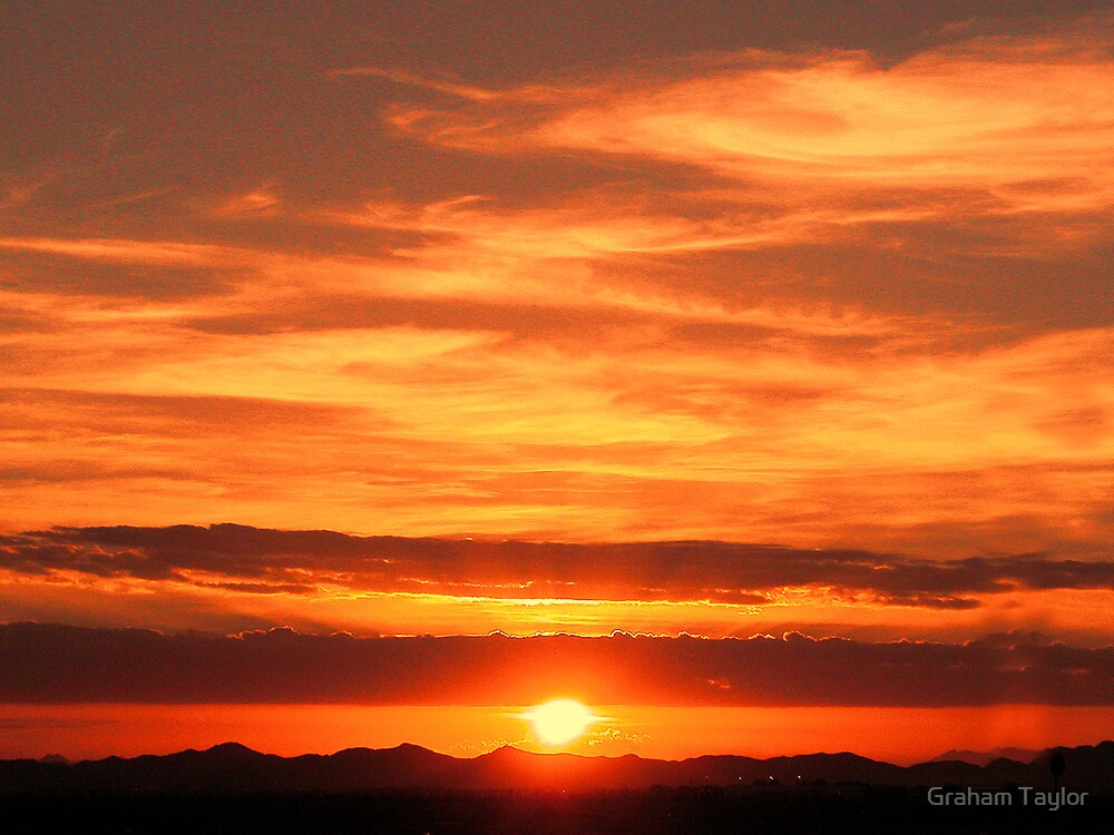 Sunrise over Jeddah by Graham Taylor