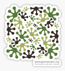 Green Mango Camo Sticker