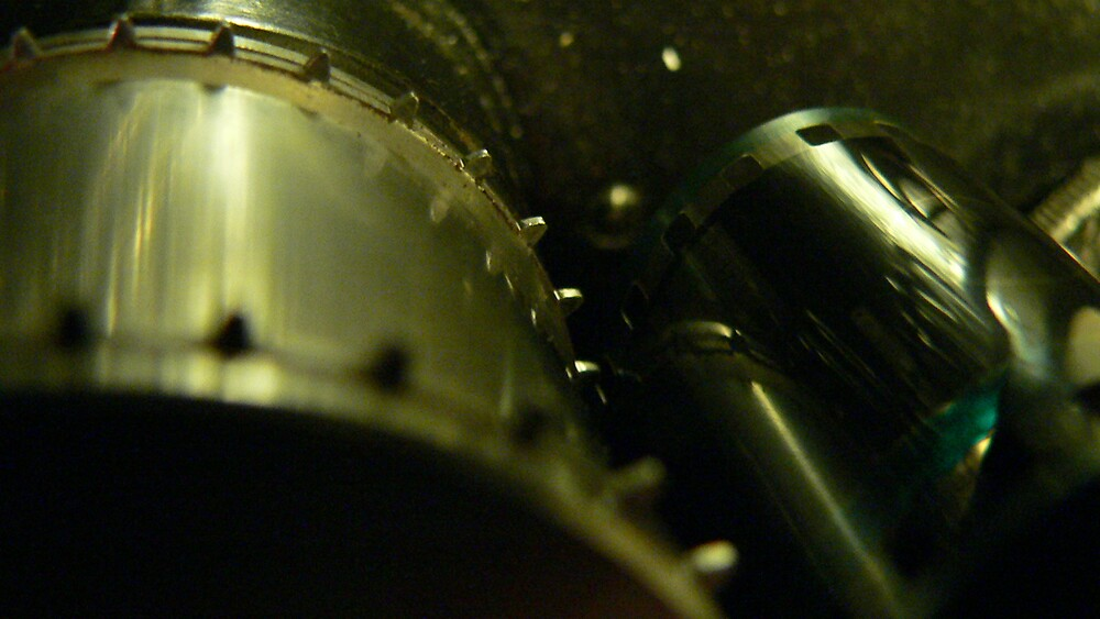 35mm film projector sprocket by kiwiposters