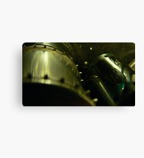 35mm film projector sprocket Canvas Print