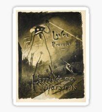 H.G. Wells War of the Worlds Sticker