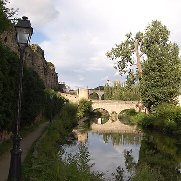 Luxembourg Bridge by Shirlaw