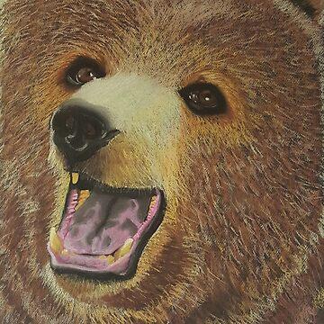 Brown Bear by YasminChambers