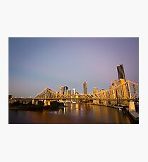 Story Bridge Sunrise Photographic Print