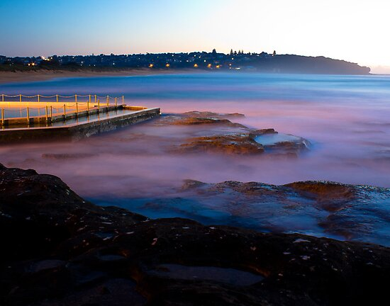 Twilight from Curl Curl by BrettSimpson
