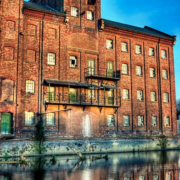 Abandoned Flour Mill HDR by InspiraImage