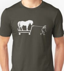 Man and Horse Unisex T-Shirt