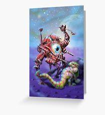 Mechanoid Greeting Card