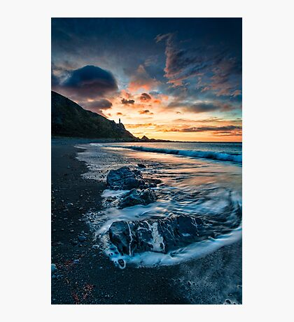 Palliser Dawn Rocks Photographic Print