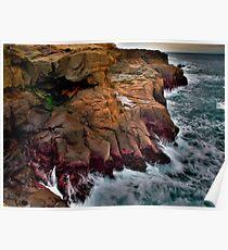 Dive In ~ Boiler Bay ~ Poster