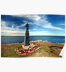 Falklands War - Welsh Guards Memorial Poster