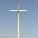 lonely mast by graham smith