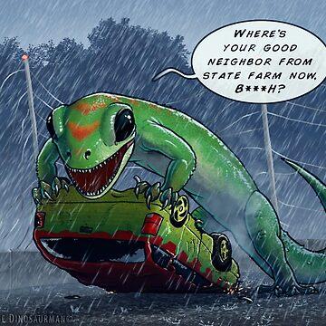 Jurassic Insurance by FredWierum