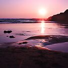 Sunset in Bude by GlennB
