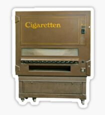 Cigarette Automat Sticker