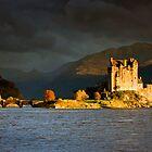 Scotland: Autumn Gold at Eilean Donan by Angie Latham
