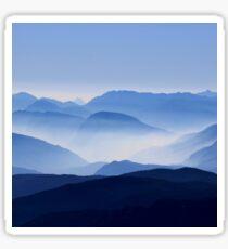 Mountain Shades Sticker