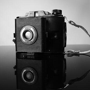 Vintage Camera circa 1940s by BingBangVision