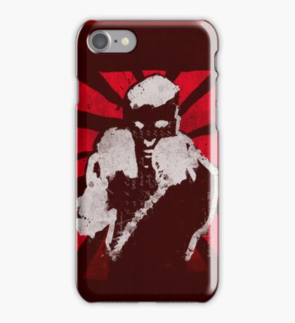 posing boxer iPhone Case/Skin