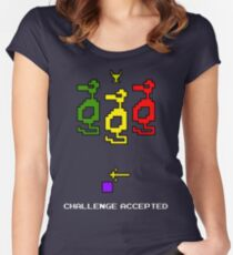 Atari Adventure Challenge Accepted TeeShirt Women's Fitted Scoop T-Shirt