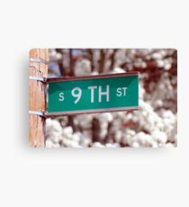 9th Street Canvas Print