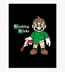 Breaking Bricks Photographic Print