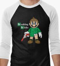 Breaking Bricks Men's Baseball ¾ T-Shirt