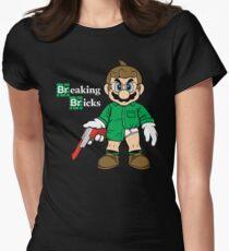Breaking Bricks Women's Fitted T-Shirt
